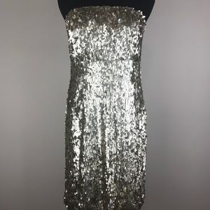 =UO=SPARKLE AND FADE STRAPLESS MINI DRESS 10